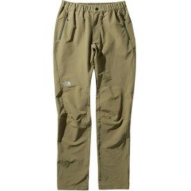ノースフェイス THE NORTH FACE レディース アルパインライトパンツ Alpine Light pants バーントオリーブ NTW52927 BG