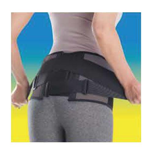 ミズノ MIZUNO 腰部骨盤ベルト ワイド 補助ベルト付き骨盤固定帯 C3JKB502 ブラック×グレー