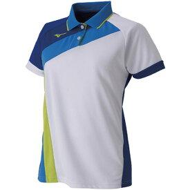 ミズノ MIZUNO レディース ラケットスポーツ ゲームシャツ ホワイト 62JA9215 71
