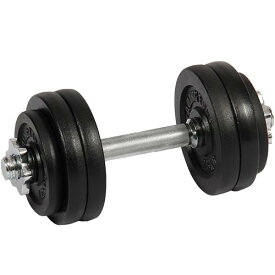 LEADINGEDGE リーディングエッジ アイアンダンベル 15kg 単品 LE-IDB15