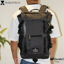 MAKAVELIC マキャベリック CHASE DOUBLE LINE BACKPACK ダブルライン バックパック DARKGRAY 3106-10107