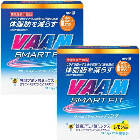 VAAM ヴァーム ヴァーム スマートフィットウォーターパウダー レモン風味 20袋 5.7g/1袋 2箱セット 2650012
