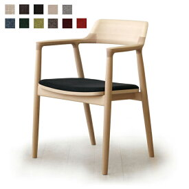MARUNI COLLECTION HIROSHIMA ARM CHAIR cusioned(beech)No.2956-31 M-02(cc-nt)【マルニ木工 ヒロシマアームチェアクッション ビーチ 深澤直人】