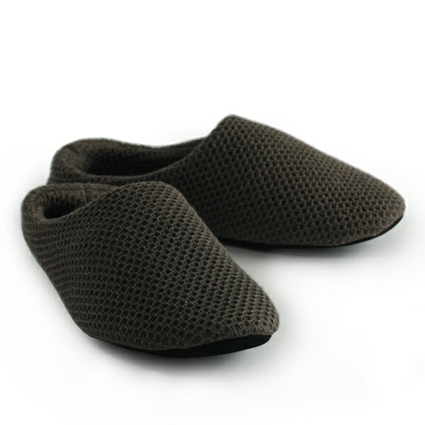 【SALE】【スリッパ】コンテックス ヴィンテージワッフル ルームシューズ(SIZE:L 06ブラウン)【kontex VINTAGEWAFFLE RoomShoes 06brown 日本 コットン100% 25-26.5cm ギフト】