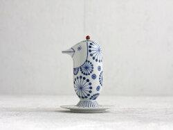 JaimeHayonKUTAANICHOEMON醤油さし/soypotBIRD(鳥型/花)