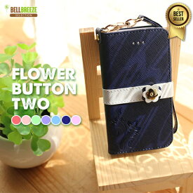 iphone8 ケース iPhone7ケース 手帳型 iPhone6 手帳【FLOWER BUTTION2 手帳型ケース】iPhone8 iPhone8Plus iPhone7 iPhone7Plus iPhone6 iPhone6s iPhone6Plus iPhone6sPlus iPhone5 iPhoneSE iPhone se iPhone5s アイフォン8 アイフォン7 アイフォンse アイフォン6 花柄