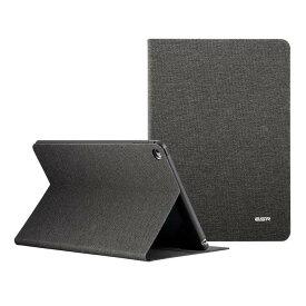 ESR iPad Mini4 ケース レザー 合皮 iPad Mini4 カバー 軽量 シンプル スエード柔らかな内側 スタンド機能 オートスリープ スリム 傷つけ防止 二つ折 iPad Mini4 スマートカバー (灰墨色/Twilight)