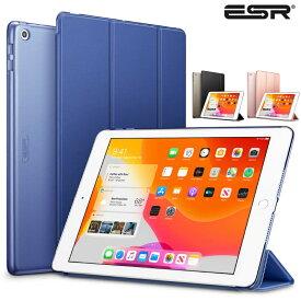 \スマートケース/【2020 iPad8 / 2019 iPad7】ESR iPad 10.2 ケース 第8世代 2020 クリア 薄型 軽量 傷防止 オートスリープ/ウェイク 三つ折りスタンド スマートケース Apple iPad 10.2インチ 第8世代 ケース iPad ケース 第8世代 ipad ケース 第7世代 ipad カバー