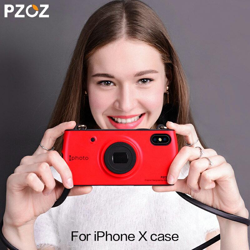 【カメラ型】iphone x ケース 韓国 可愛い ブランド [PZOZ Iphoto] iphone8 ケース かわいい iphone8plus ケース かわいい iphone7ケース おしゃれ iphone7 plus ケース かわいい スマホケース