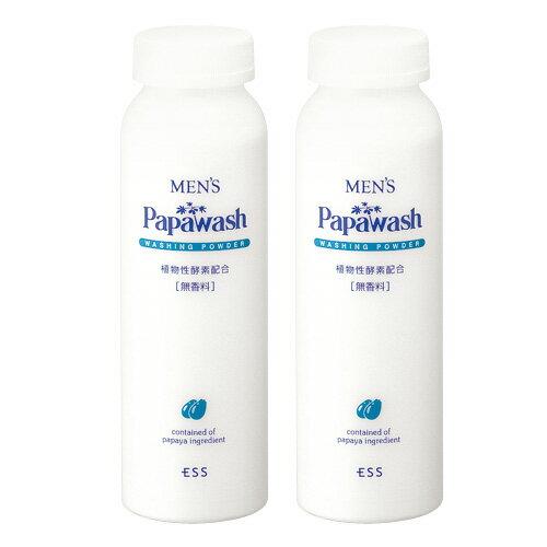 メンズパパウォッシュ お徳用詰め替えボトル 2本組(140g×2本)【送料無料】洗顔料 酵素洗顔 05P03Dec16