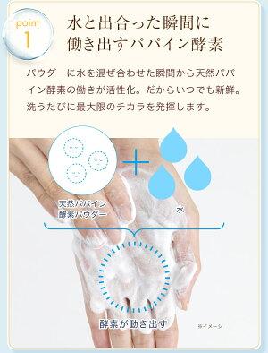 パパウォッシュ・ベーシックタイプ(60g)【酵素洗顔洗顔パウダー酵素洗顔洗顔料パウダー洗顔ニキビ予防毛穴角質角質ケア】