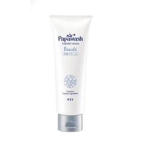 パパウォッシュ ボーテ クリーミィウォッシュ M <グリーンフローラルの香り>(100g)洗顔 約60回分 洗顔料 保湿洗顔