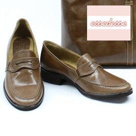本革【ローファー】 ブラウン BR 22cm 22.5cm 23cm 23.5cm 24cm 24.5cm ベラージオ おじ靴 軽量 日本製 婦人靴 製造直売 10P03Sep16