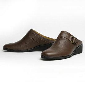【レディースサボ】bellagio 本革レディースサボ ベラージオ 本牛革 ミュール サボ 日本製 婦人靴 製造直売 21.5cm 22cm 22.5cm 23cm 23.5cm 24cm 24.5cm 25cm 10P03Sep16
