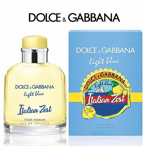新春セール ドルチェ&ガッバーナ ライトブルー プールオム イタリアンゼスト EDT 75ml DOLCE&GABBANA LIGHT BLUE POUR HOMME ITALIAN ZEST