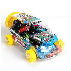 子供 キッズ おもちゃ クリア自動車型ケース入りミニカー15台セット プルバックカー セット MINI PULL BACK CAR SET15 PCS