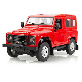 RC ランドローバー ディフェンダー レッド 1:14 LAND ROVER DEFENDER RADIO CONTROLED CAR 1:14 SCALE BLACK ラジコン 車 自動車 おもちゃ ギフト