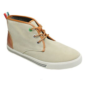 【BENETTON(ベネトン)】スニーカータイプのジョージブーツ・BN1017(ベージュベロア)/メンズ 靴
