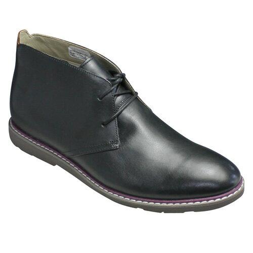 【Clarks(クラークス)】Gambeson Top(ギャンベソン トップ)・415E (ブラック)・26112432/ドレス&カジュアルの超軽量チャッカーブーツ/メンズ 靴