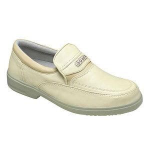 【GOLF(ゴルフ)】4Eの幅広・軽量・撥水加工!牛革ビジネス&カジュアルシューズ(スリッポン)・GF5001(アイボリーベージュ)/メンズ 靴