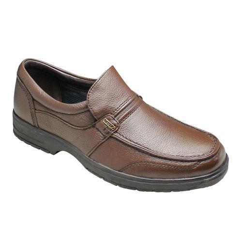 【City Golf(シティ ゴルフ)】撥水加工の軽量ウォーキングビジネスシューズ(ローファー)4E巾広・SPGF908(ダークブラウン)/メンズ 靴