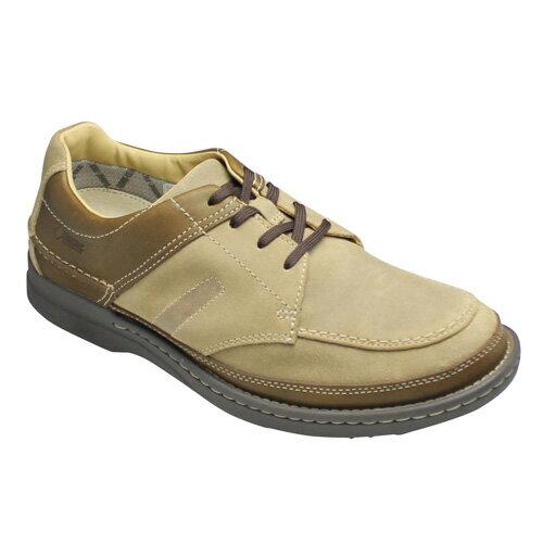 【REGAL WALKER (リーガルウォーカー)】GORE-TEX採用の全天候型・4Eの幅広ウォーキングシューズ(Uチップ)・202W(ベージュスエード)/メンズ 靴