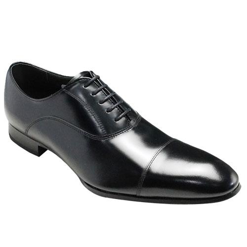 リーガル/バルモラル(内羽根)牛革ビジネスシューズ(ストレートチップ)・011R(ブラック)/メンズ 靴