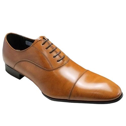 リーガル/バルモラル(内羽根)牛革ビジネスシューズ(ストレートチップ)・011R(ブラウン)/メンズ 靴