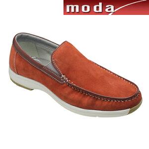 リーガルウォーカー カジュアルシューズ スリッポン Uモカシン RE291W ワインスエード 3E幅 防滑タイプ REGAL メンズ 靴