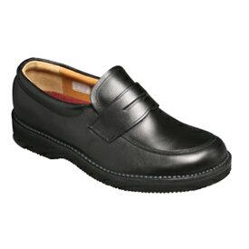 【REGAL (リーガル)】JJ22AG ビジネスウォーキング ローファー (ブラック)/メンズ 靴