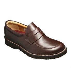 【REGAL (リーガル)】JJ22AG ビジネスウォーキング ローファー (ダークブラウン)/メンズ 靴
