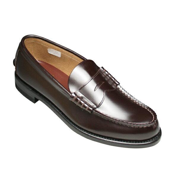 【REGAL(リーガル)】2177 ビジネスシューズ ローファー (ダークブラウン)/メンズ 靴