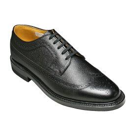 【REGAL (リーガル)】牛革(革底)ビジネスシューズ・ウイングチップ・2235(ブラック)/メンズ 靴