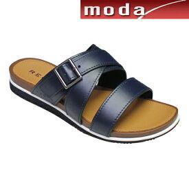 リーガル カジュアル サンダル 64PR ネイビー REGAL メンズ 靴