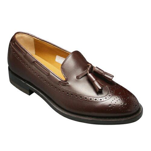 【REGAL (リーガル)】本格派トラッド!幅広3Eの定番ビジネスシューズ(ウイングタッセル)・JE03(ダークブラウン)/メンズ 靴