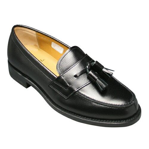 【REGAL (リーガル)】トラッドの定番!スコッチ型押しのビジネスシューズ(タッセル)・JJ17(スコッチブラック)/メンズ 靴