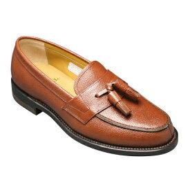【REGAL (リーガル)】トラッドの定番!スコッチ型押しのビジネスシューズ(タッセル)・JJ17(スコッチダークブラウン)/メンズ 靴