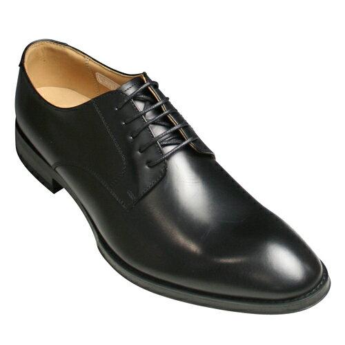 【REGAL(リーガル)】カーフの牛革ビジネスシューズ(プレーントゥ)810R(ブラック)/メンズ 靴