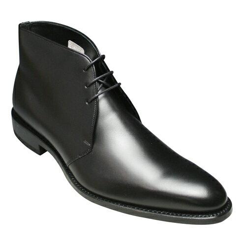 【REGAL(リーガル)】 グッドイヤーウェルト製法の牛革チャッカーブーツ・冬底・820R(ブラック)/メンズ 靴