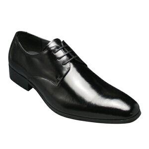【SARABANDE(サラバンド)】ヨーロピアントラディショナルの牛革ビジネスシューズ(プレーントゥ)・SB7760(ブラック)/メンズ 靴