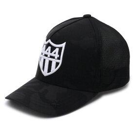 ヨシノリコタケ YOSHINORI KOTAKE x BARNEYS NEWYORK バーニーズ ニューヨーク 444ロゴ エナメル メッシュキャップ CAP BLACK 551000978011