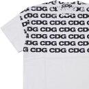 CDG(シーディージー)HANDPRINTTEE(Tシャツ)WHITE200-007942-050+【新品】COMMEdesGARCONS(コムデギャルソン)