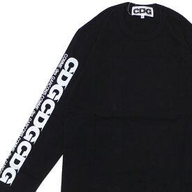 CDG シーディージー CDG L/S TEE 長袖Tシャツ BLACK 202000967031+【新品】 COMME des GARCONS コムデギャルソン