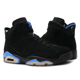 e26c590bf3abad NIKE (Nike) AIR JORDAN 6 RETRO (Air Jordan 6) BLACK UNIVERSITY BLUE  384