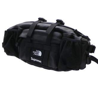 f1d906935 シュプリーム SUPREME x the North Face THE NORTH FACE 18FW Leather Mountain Waist  Bag leather bum-bag BLACK men 277002557111