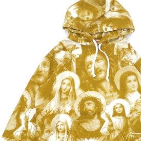 シュプリーム SUPREME Jesus and Mary Hooded Sweatshirt スウェット パーカー GOLD ゴールド メンズ 211000621148