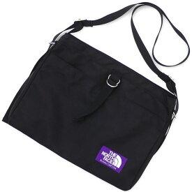 ザ・ノースフェイス パープルレーベル THE NORTH FACE PURPLE LABEL Small Shoulder Bag ショルダーバッグ BLACK ブラック メンズ NN7757N 275000185011