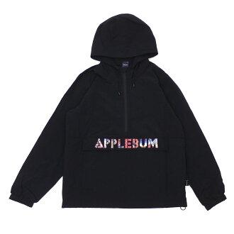 """アップルバムAPPLEBUM&essenseexclusive""""Masterpiece""""AnorakParkaアノラックパーカージャケットBLACKブラック黒メンズ850004022041"""
