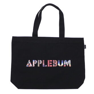 """アップルバムAPPLEBUM&essenseexclusive""""Masterpiece""""CanvasTotebagトートバッグBLACKブラック黒メンズ850004023019"""