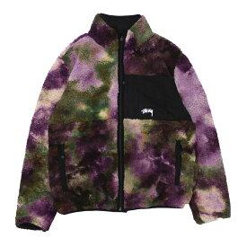 ステューシー STUSSY Reversible Micro Fleece Jacket リバーシブル ジャケット TIE DYE タイダイ メンズ 420000260041
